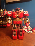 Red Zeo Battlezord Labels