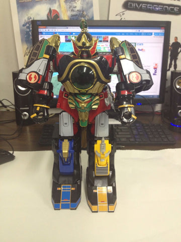 Thunderzord Megazord Labels