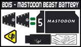 BOJ Mastodon Beast Battery Labels
