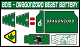BOJ Dragonzord Beast Battery Labels