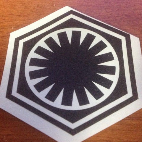First Order Vinyl Decal