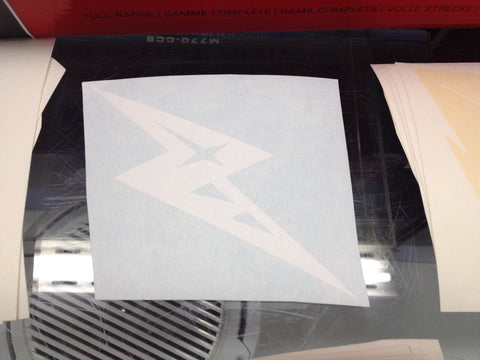Alien Bolt Symbol Decal