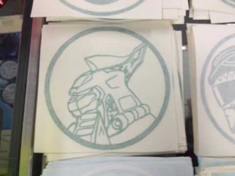 Dragonzord Decal