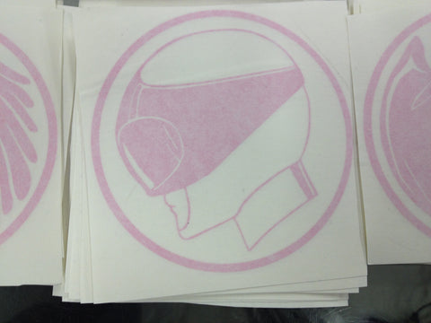 Ptera Ranger Helmet Decal