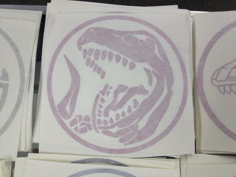 Tyrannosaurus Power Coin Decal
