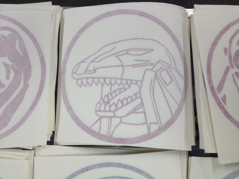 Tyrannosaurus Zord Decal Bd15 Decals Amp Props