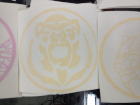 Bear Power Coin Decal