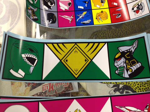 Dragon Ranger / Zord Bumper Sticker