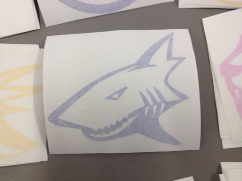 GaoShark Decal