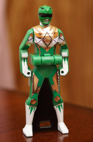 BOJ Ranger Key Labels - Power Up Green Ranger