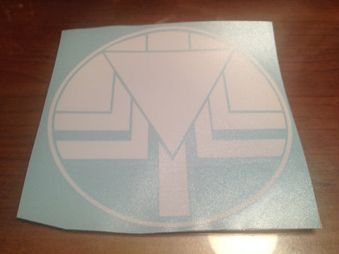 Flashman Symbol Decal