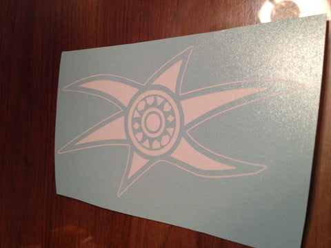 Time Force Uniform Symbol Decal