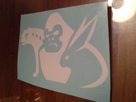Gobusters Tribal Symbol Decal