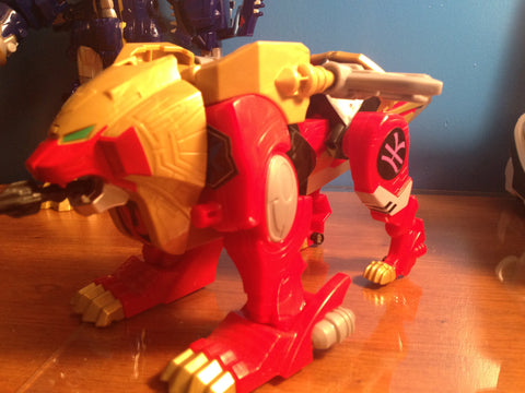 Red Lion Zord Labels
