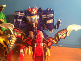Mystic Dragon Zord Labels