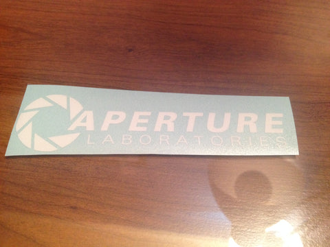 Aperture Laboratories Decal
