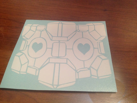 Companion Cube Decal
