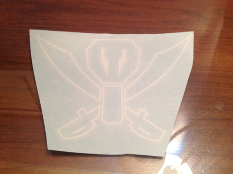 Gokaiger Symbol (Outline) Decal
