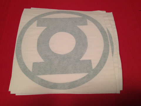Green Lantern Symbol Decal