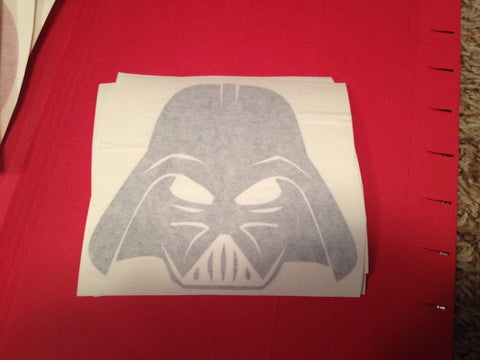 Darth Vader Helmet Decal