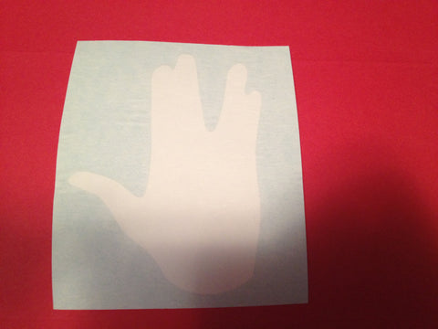 Vulcan Salute Decal Bd15 Decals Amp Props
