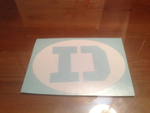 Denziman Symbol Decal