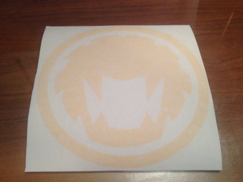 HurricaneYellow Symbol Decal