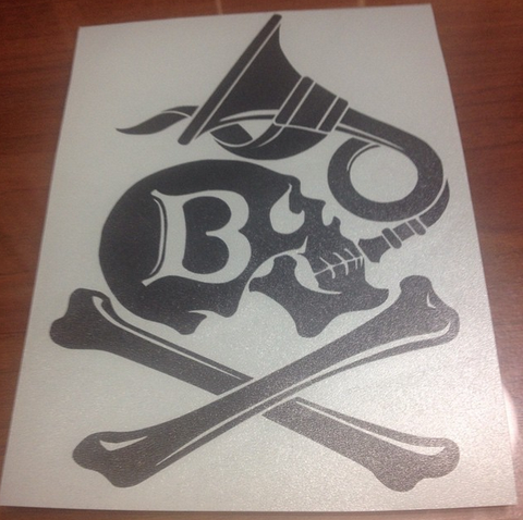 Basco ta Jolokia Symbol Decal