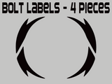 Legacy Power Morpher Labels