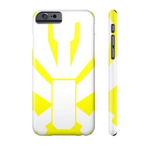 Gokai Yellow iPhone Case