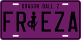 Frieza License Plate