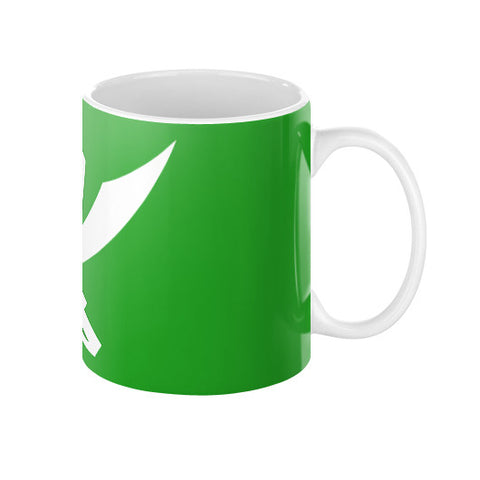 Gokai Green Coffee Mug  BD15 Decals & Props