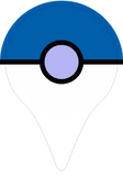 Blue Poké Ball - Go Plus Skin