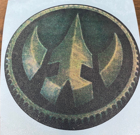 Lord Drakkon Power Coin Decal