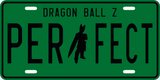 Perfect Cell License Plate