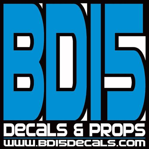 BD15 Decals & Props
