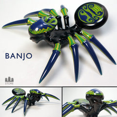 Banjo Spider pipe