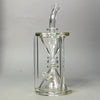 Silika Glass Hourglass rig -SALE-