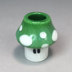 Koji 18mm GREEN Mushroom Dome 50% OFF