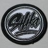 Silika circle logo embroidered patch