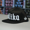Silika 'Old English' snapback hat