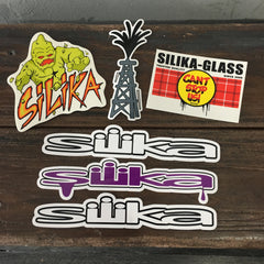 Silika Sticker Pack -  6 Count