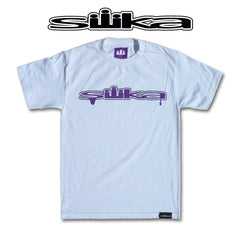 Silika Purple Drip Tee 30% OFF