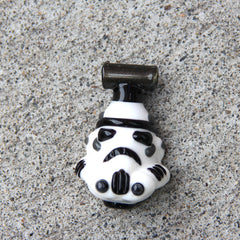 Creep Glass Stormtrooper Pendant -Now 50% off