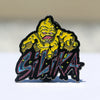 Silika Wax Man Die Cut Hat Pin