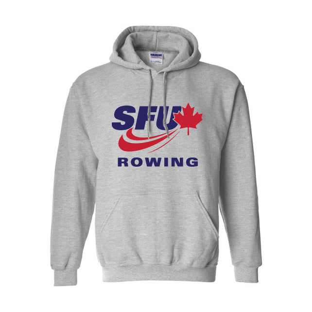 SFU Rowing - Gildan® Heavyweight Blend Hood Sweatshirt (Booking Only)