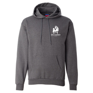 EHSS Music | Champion® Powerblend ECO Fleece Hoodie - Heather Charcoal LC