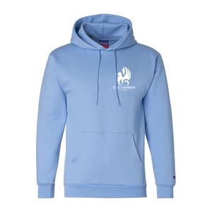 EHSS Music | Champion® Powerblend ECO Fleece Hoodie - Light Blue LC