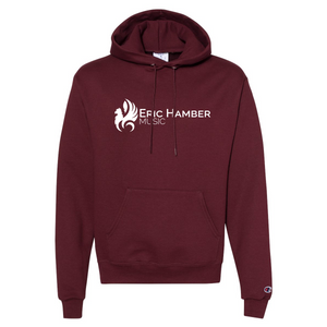 EHSS Music | Champion® Powerblend ECO Fleece Hoodie - Maroon