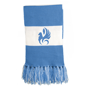 EHSS Music | Sport-Tek® Knit Scarf - Light Blue/White
